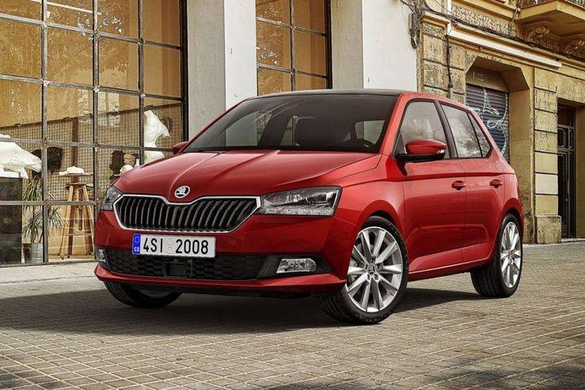 skoda fabia 2018. Black Bedroom Furniture Sets. Home Design Ideas