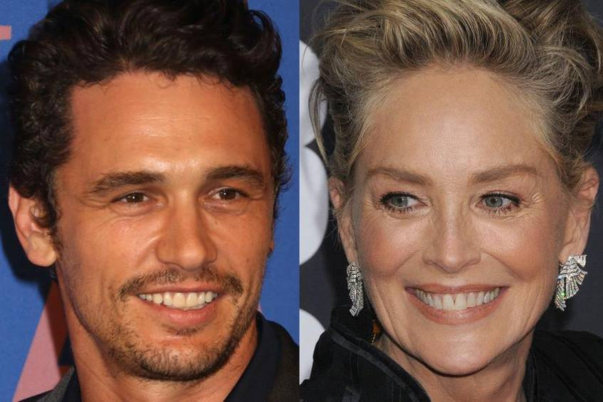 Sharon Stone verteidigt James Franco