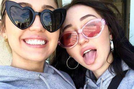 "Miley und Noah Cyrus nehmen am ""March for Our Lives"" in Washington teil"