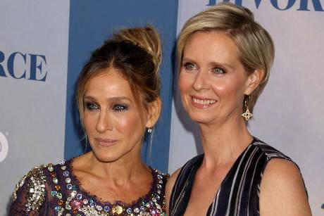 "Sarah Jessica Parker und Cynthia Nixon wurden durch ""Sex and the City"" Freundinnen"