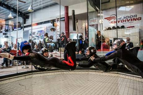 Indoor Skydiving: Team Airbus bei Premiere deutscher Meister