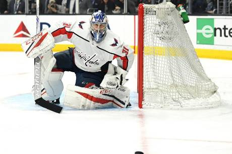 NHL: Grubauer zum Play-off-Start im Washington-Tor