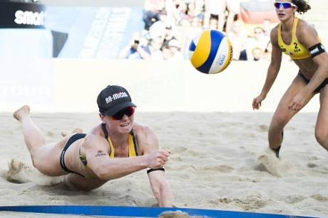 Beachvolleyball: Laboureur/Sude Fünfte in Xiamen