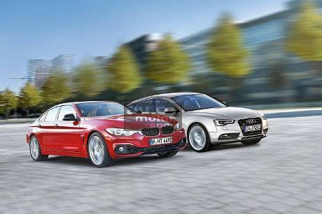 BMW 4er Grand Coupé, Audi A5 Sportback