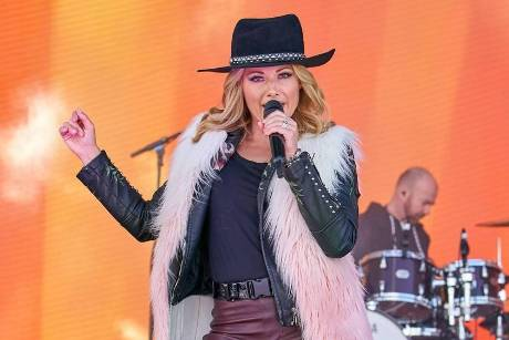 "Helene Fischer beim ""Top of the Mountain Concert"" in Ischgl"