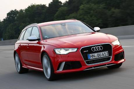 Audi RS6, Frontansicht