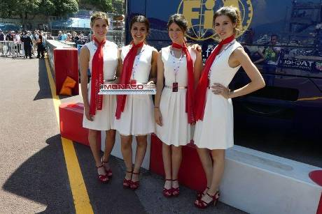Grid Girls - GP Monaco - Formel 1 - Freitag - 25.5.2018