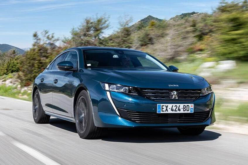 "Nominiert für den Titel ""Car of the Year 2019"": Peugeot 508."