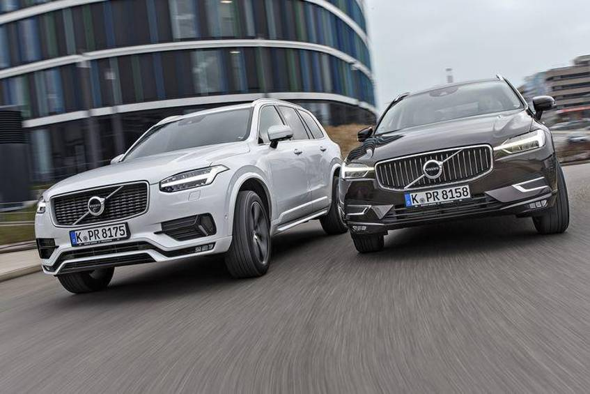 Volvo XC60 T6 AWD, Volvo XC90 T6 AWD, Exterieur