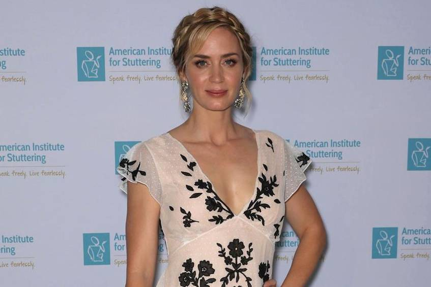 "Emily Blunt auf der Charitiy Gala des ""American Institute for Stuttering"" in New York City"