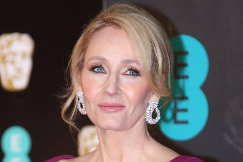 J.K. Rowling bei einem Event in London