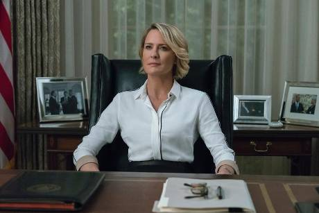 "Robin Wright als Claire Underwood in ""House of Cards"""