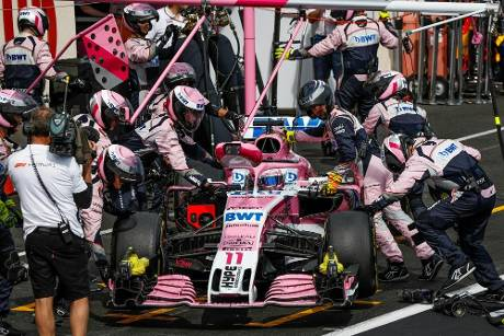Neuer Name, neues Team: Racing Point Force India darf in Spa starten