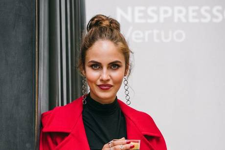 Elena Carrière bei der Nespresso Vertuo Launchparty