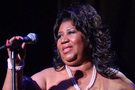 Aretha Franklin in ihrem Element