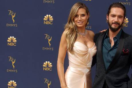 Heidi Klum und Tom Kaulitz bei den 70. Primetime Emmy Awards in Los Angeles