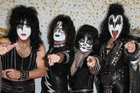 "Hard-Rock-Band KISS in der US-Show ""America's Got Talent"""
