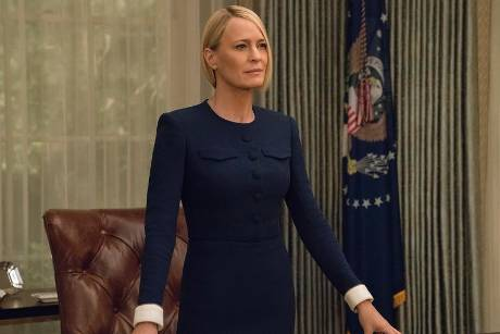 """Robin Wright spielt in """"House of Cards"""" Claire Underwood"""