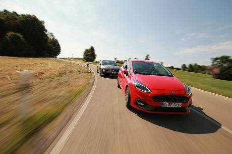 Ford Fiesta ST, VW Polo GTI, Exterieur
