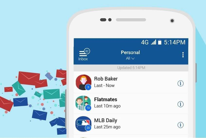 Android Clevere E Mail Apps Mit Vielen Funktionen