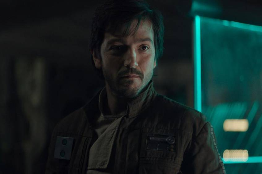 "Diego Luna als Captain Cassian Andor in ""Rogue One: A Star Wars Story"" 2016"