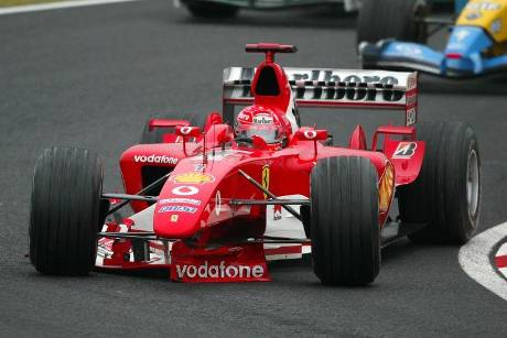 Michael Schumacher - GP Japan 2003