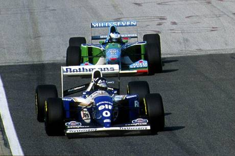 Damon Hill vs. Michael Schumacher - 1994