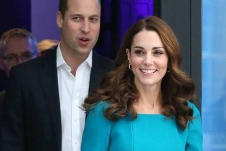 Prinz William und Herzogin Kate bei der BBC in London