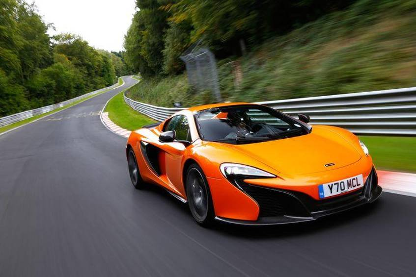 mclaren 650s spider im supertest