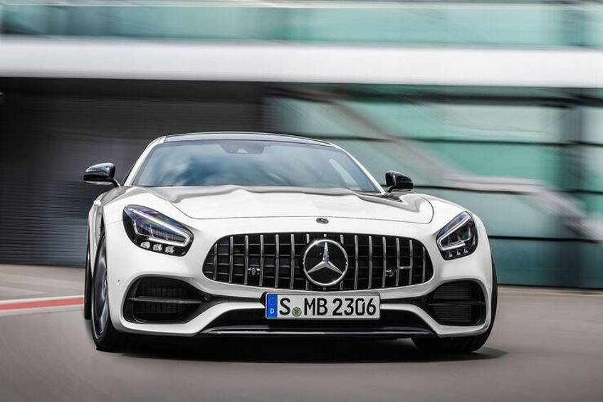 Mercedes Amg Gt Facelift 2019
