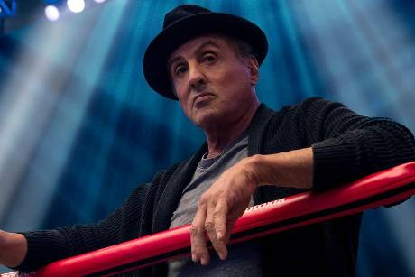 """Ab 24. Januar 2019 ist Sylvester Stallone hierzulande als Rocky Balboa in """"Creed II: Rocky's Legacy"""" zu sehen"""