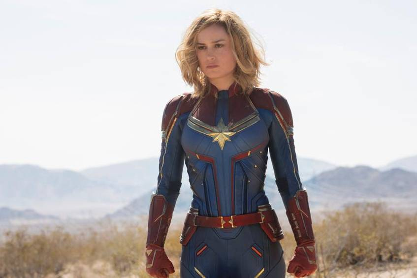 """Captain Marvel"": Carol Danvers alias Captain Marvel (Brie Larson)"