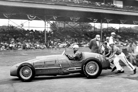 Jimmy Jackson - Indy 500 - 1950 - Motorsport