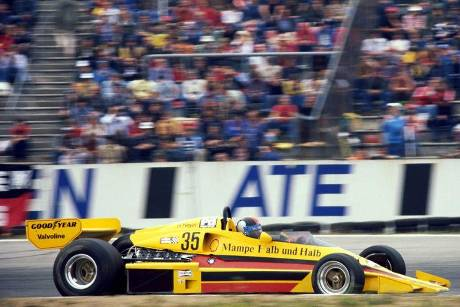 Hans Heyer - PC4-Ford V8 ATS Racing Team - GP Deutschland 1977