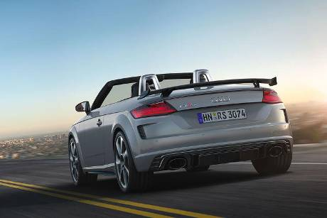 Audi TT RS Coupe und Roadster Facelift