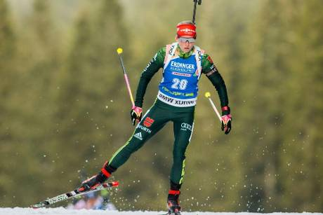 Biathlon: Hildebrand sprintet in Soldier Hollow auf das Podest