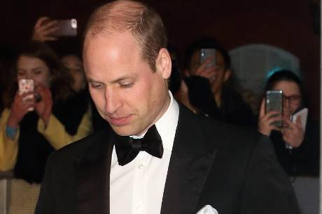 Prinz William bei einem Auftritt in London