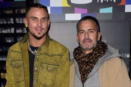 Charly Defrancesco und Marc Jacobs