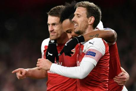Europa League: Arsenal siegt gegen Neapel