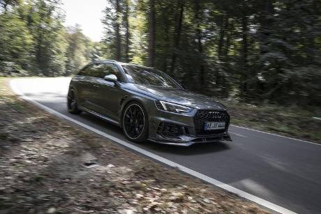 Abt-Audi RS 4-R, Einzeltest, spa0119