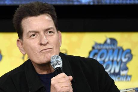 Charlie Sheen auf der German Comic Con in Dortmund im April 2019
