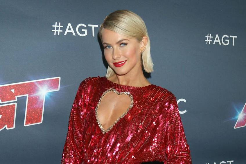 "Schauspielerin Julianne Hough beim ""America's Got Talent""-Finale"