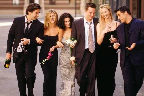 "Sie waren die ""Friends"": David Schwimmer (v.l.), Jennifer Aniston, Courteney Cox, Matthew Perry, Lisa Kudrow und Matt LeBlanc"