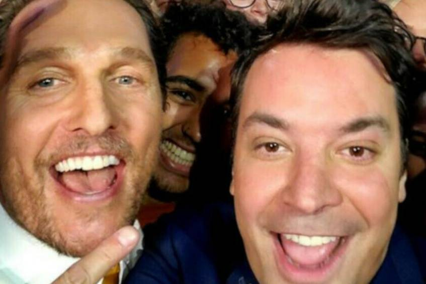 Matthew McConaughey und Jimmy Fallon in Texas