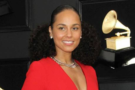 Alicia Keys bei den diesjährigen Grammy Awards in Los Angeles