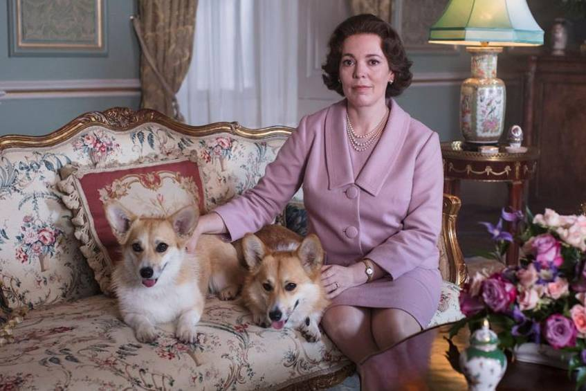 "Olivia Colman als Queen Elizabeth II. in ""The Crown"""