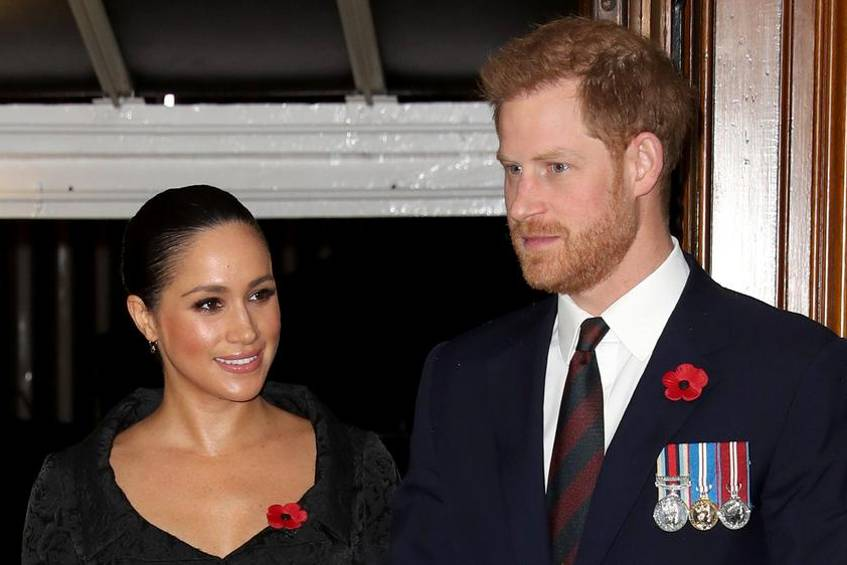 Herzogin Meghan und Prinz Harry feierten vor zwei Wochen den Remembrance Day mit der royalen Familie in der Royal Albert Hall in London