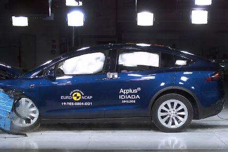EuroNCAP Crashtest Tesla Model X