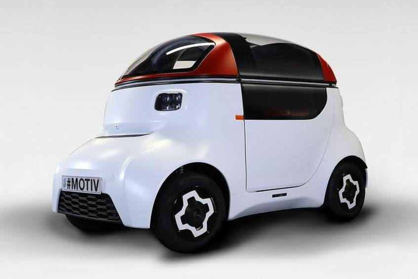Motiv autonome Plattform Gordon Murray