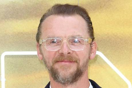 "Simon Pegg bei der UK-Premiere von ""Once Upon a Time... in Hollywood"""